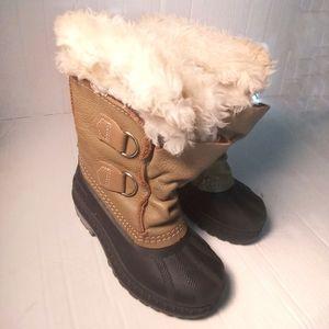 Sorel Kids Faux Fur Boots